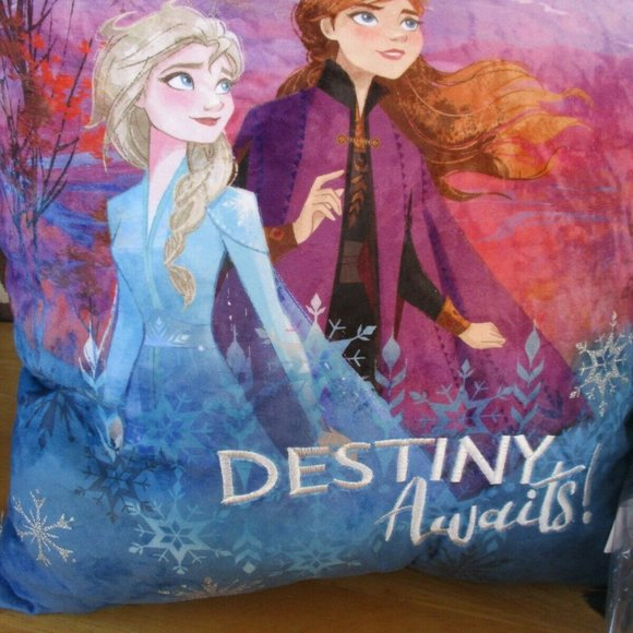 Frozen 2 Pillow with Tassels